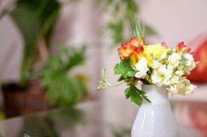 フリージアの花瓶