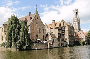 中世ヨーロッパのような光景