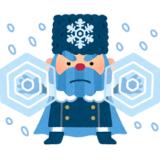 冬将軍のイラスト